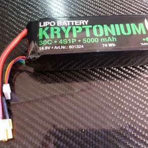 LIPO BATTERIE KRYPTONIUM 5000mAh 4S1P 30C