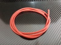 CABLE SILICONE SOUPLE AWG 10/5.4mm2-ROUGE-1m